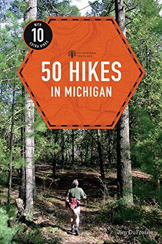 Book Cover: 50 Hikes in Michigan