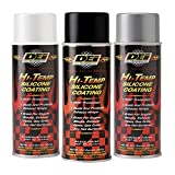 silicone paint - DEI 010301 High-Temperature Silicone Coating Spray - Black