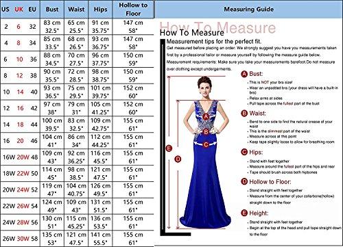Clearbridal Kurz Ballkleider Royal Abendkleider glitzer Damen Abschusskleider CSQS048 Tüll Cocktailkleider 039 Blue rZRw7qxr
