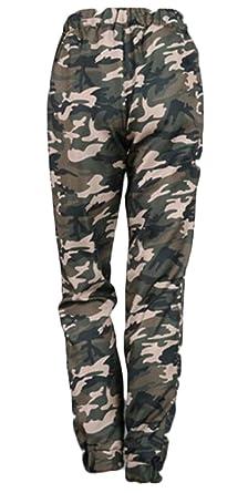 b27a8ec5c70b5 M&S&W Womens Casual Plus Size Pants Elastic Waist Camo Joggers Pants  Sweatpants ...