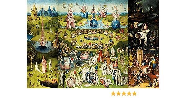 1art1 El Bosco - El Jardín De Las Delicias, 1500 Póster (120 x 80cm): Amazon.es: Hogar