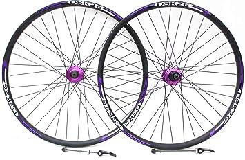 """26 """"rueda de bicicleta de montaña freno de disco rojo y VBrake freno ruedas"""