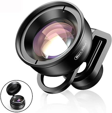 BAI YI Kit de Lentes para cámara de teléfono móvil, Lente Macro de ...