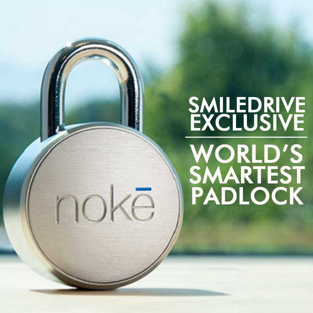 Noke World'S First Smart Lock - Keyless Bluetooth Mobile Padlock