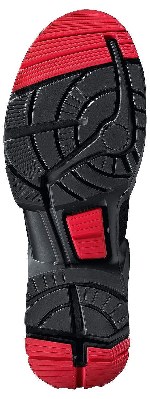Uvex 1 X-Tended Support Arbeitsstiefel Rot-Schwarz S3-Sicherheitsstiefel f/ür Damen /& Herren