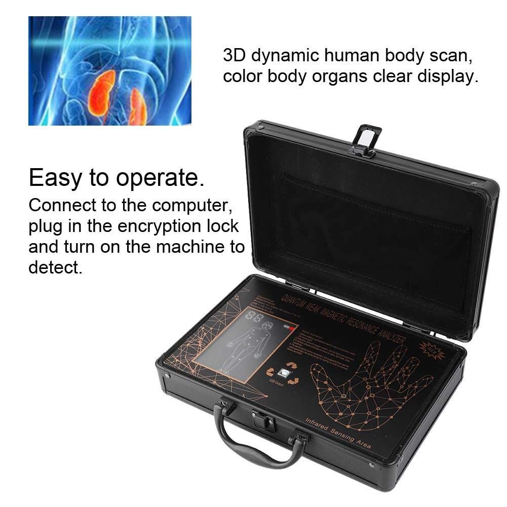 Naroote Analizador de resonancia,Detector de Subhealth Analizador ...