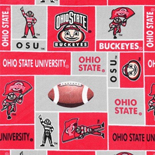 Ohio State University -100% Polyester Fleece, 60