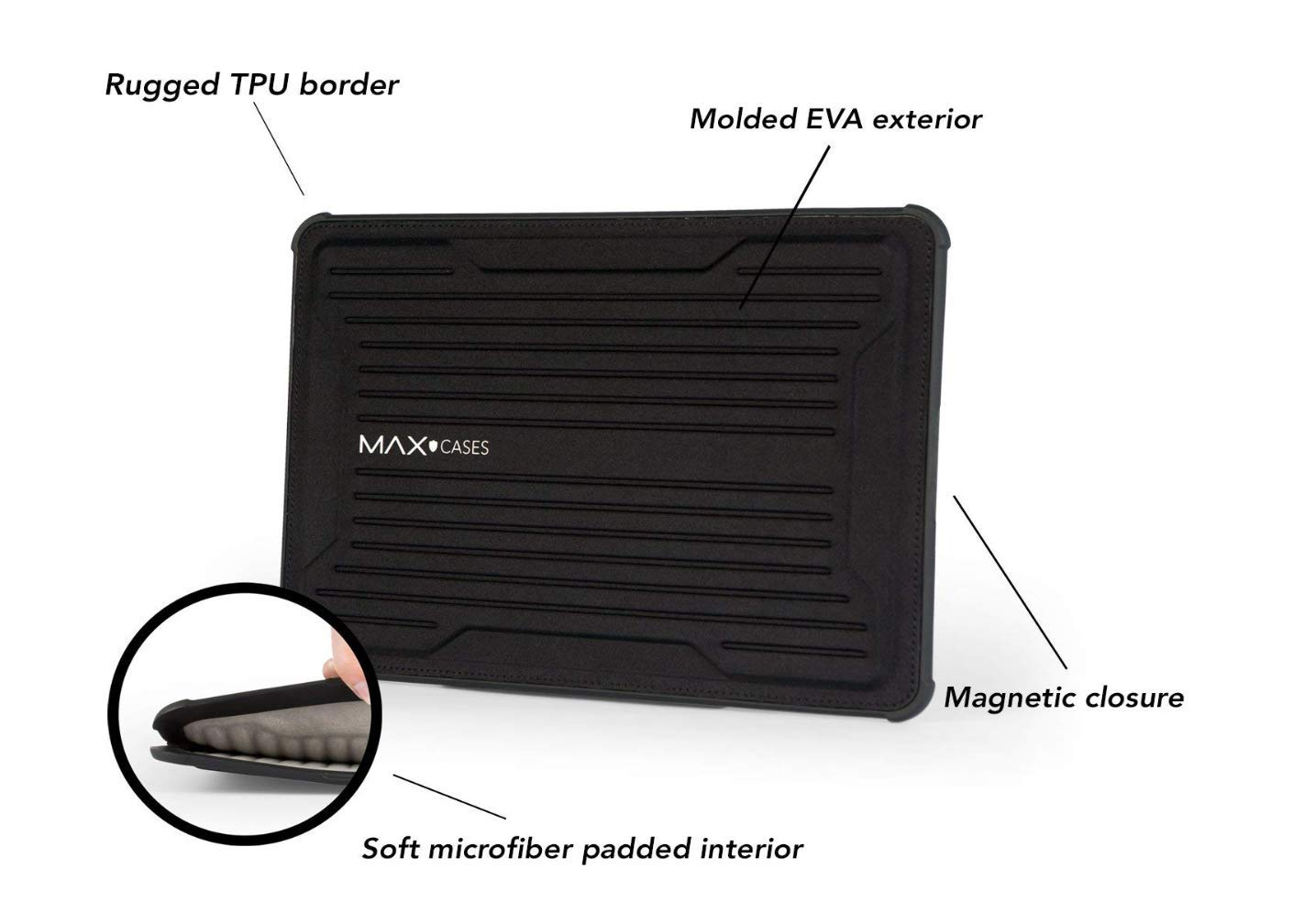 Max Cases Rugged Laptop Sleeve Notebook Sleeve