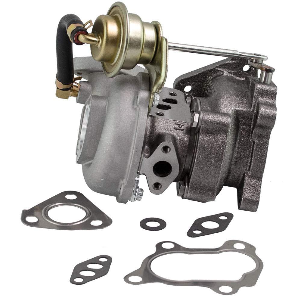 maXpeedingrods VZ21 Mini Turbocharger Turbo for Small Engines Snowmobiles Motorcycle ATV RHB31