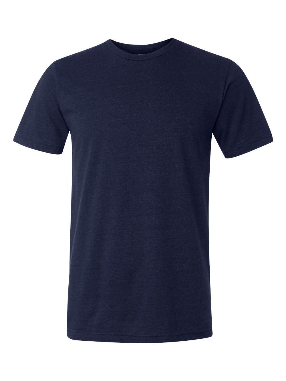 3413 Bella + Canvas Unisex Triblend Short-Sleeve Tee (Navy TriBlend) (3XL)