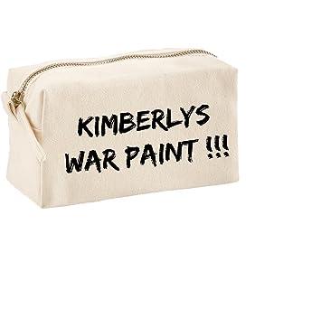 Bolsa de maquillaje personalizable, diseño de pintura de ...