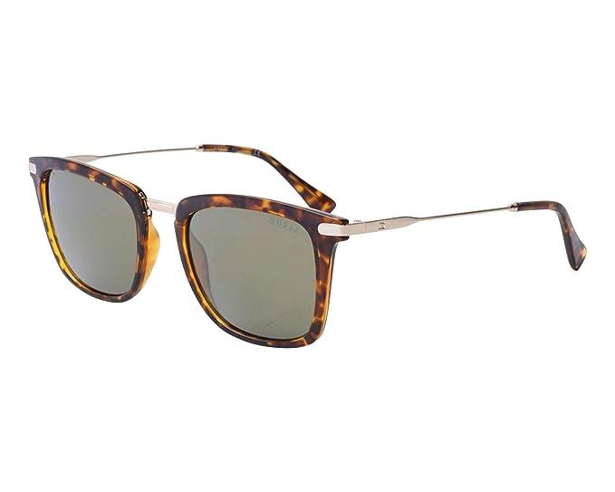 Guess GF5017-5256Q Gafas de Sol, Marrón, 51 Unisex
