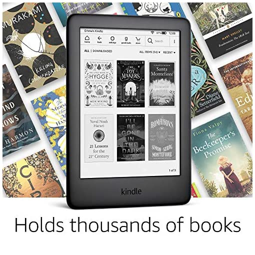 Kindle | Now with a built-in front light—with Special Offers—White