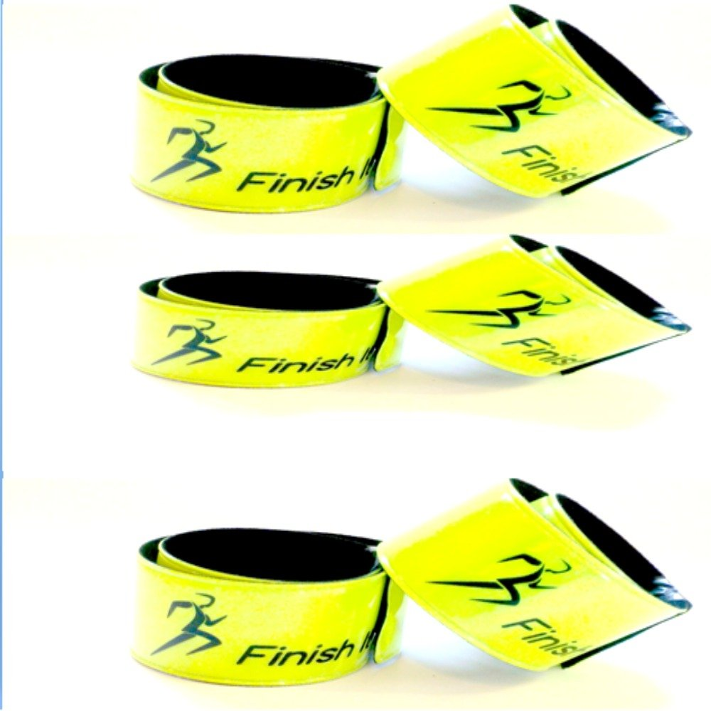 Finish It 6-Packs Biking Gear Reflective Snap Wrist /& Ankle Pop Bands 2-Packs Reflective Gear for Running 4-Packs Pets and Children for Night Safety! Perfect for Walking