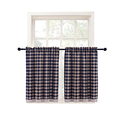 Amazon Kitchen Curtains Window Treatment Tier