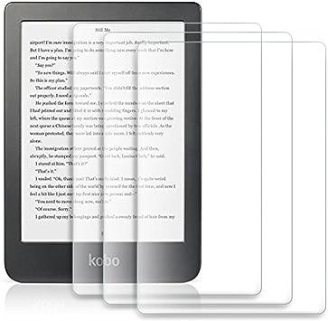 Kobo Clara HD Película Protector de Pantalla, IVSO HD Clear Pantalla Alta Definición para Kobo Clara HD e-Book- E-Reader 6