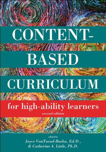 Content Based Curriculum for High-Ability Learners 2nd Edition
