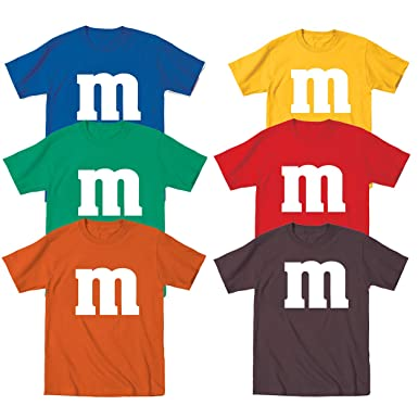 661831a17f8 Amazon.com  Funny Threads Outlet M Candy Costume Cute Halloween Outfit  Group Kids Children Humor Toddler Shirt  Clothing