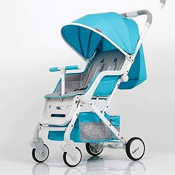 XYQ Carrito de bebé-Baby Trolley Can Sit/Lie Ultralight ...