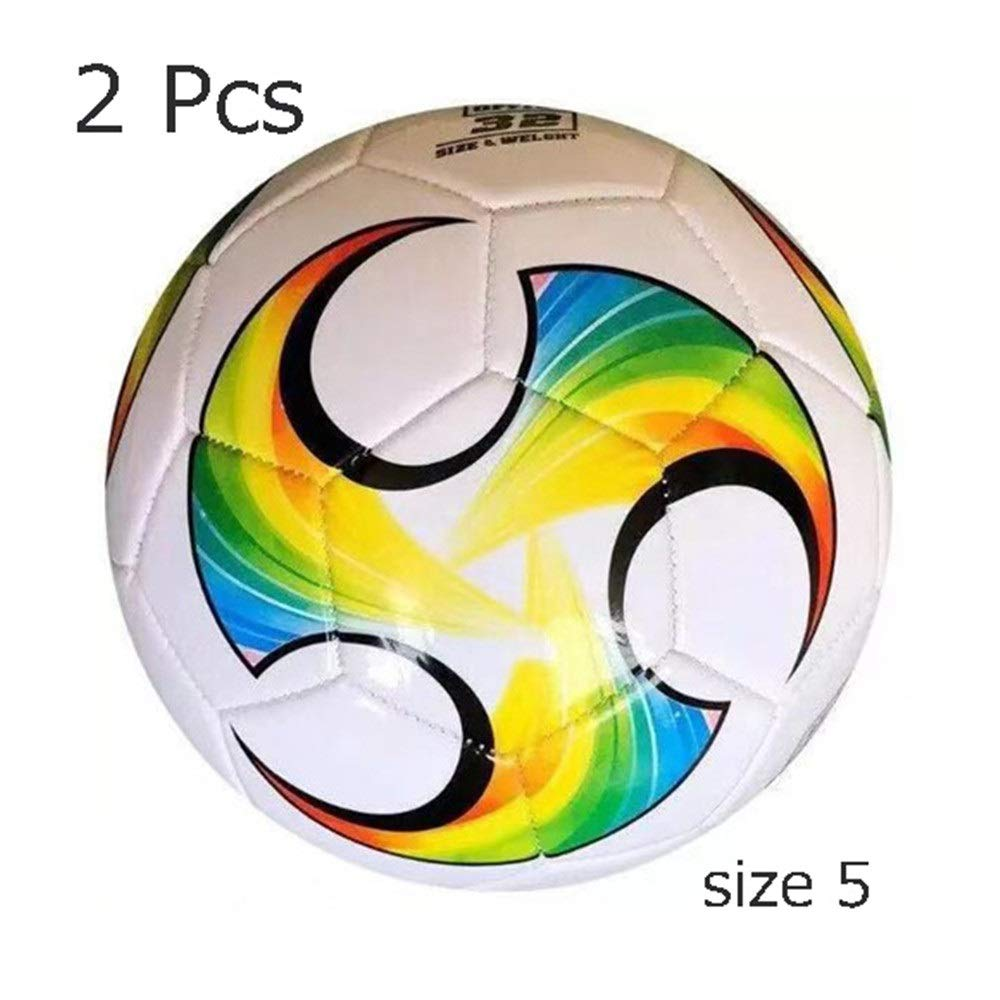 Jajx-os Kids Toys Soccer Girls Boys Classic Mini Soccer Ball Children Football Official Size of 5 4 3 2 for Toddlers Kids Teens Students (Color : C4, Size : 4) by Jajx-os