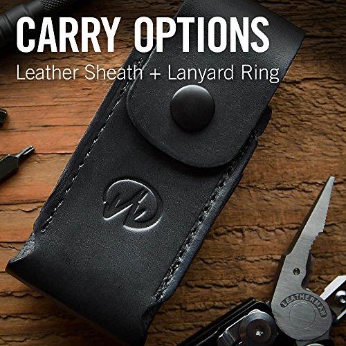 Leatherman - Surge Multitool, Black with Leather Sheath (FFP)