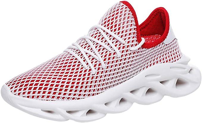 Zapatillas de Deporte Respirable Sneakers Zapatillas Running para Hombre Mujer Unisex: Amazon.es: Ropa y accesorios