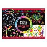 MELISSA & DOUG DELUXE COMBO SCRATCH ART SET (Set of 6)