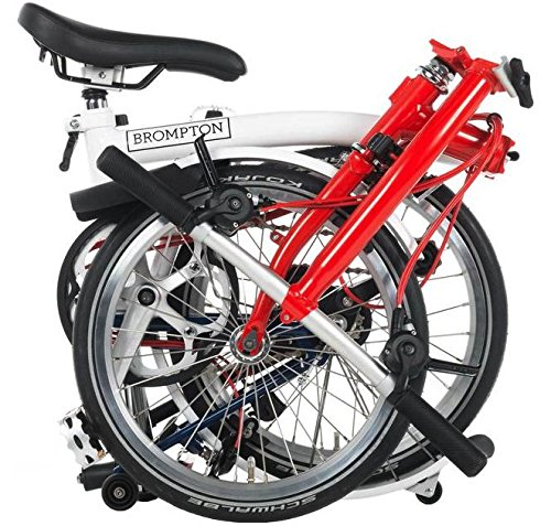 Brompton World Championship Limited Edition S6L 2018 - Bicicleta plegable: Amazon.es: Deportes y aire libre