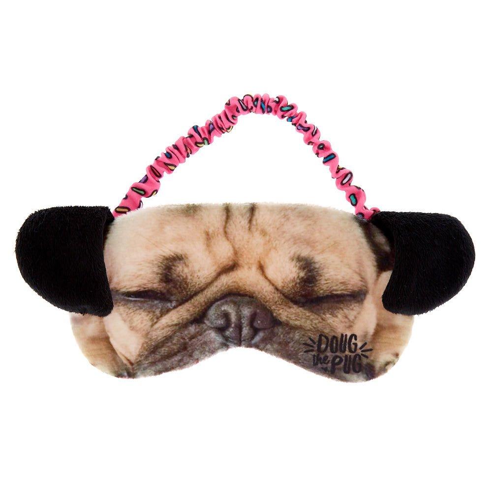 Doug the Pug Claire's Girl's Sleeping Mask - Brown 12281