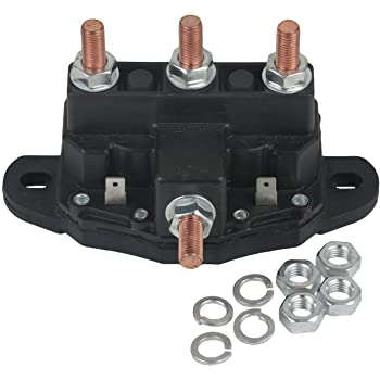 amazon com new winch motor reversing solenoid contactor relay 6 rh amazon com Reverse Winch Schematic Polarity Reversing Relay Automotive