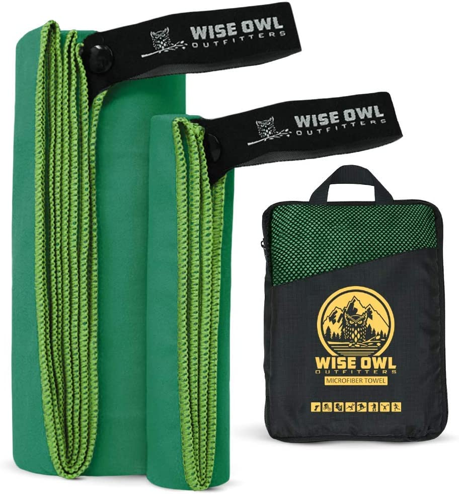 Wise Owl Outfitters Camping Travel Towel