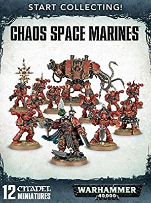 Warhammer 40K Games Workshop Start Collecting Chaos Space Marines from Warhammer 40k