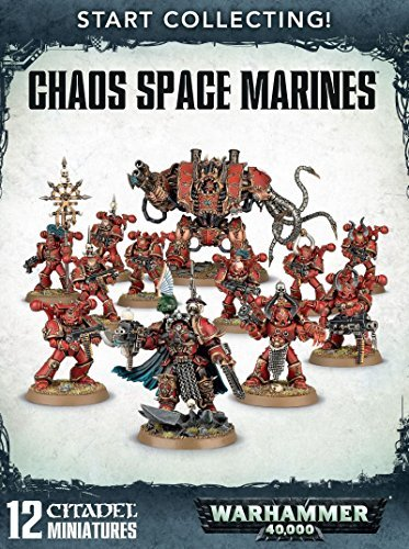 Games Workshop 99120102079'' Chaos Space Marines: Start Collecting