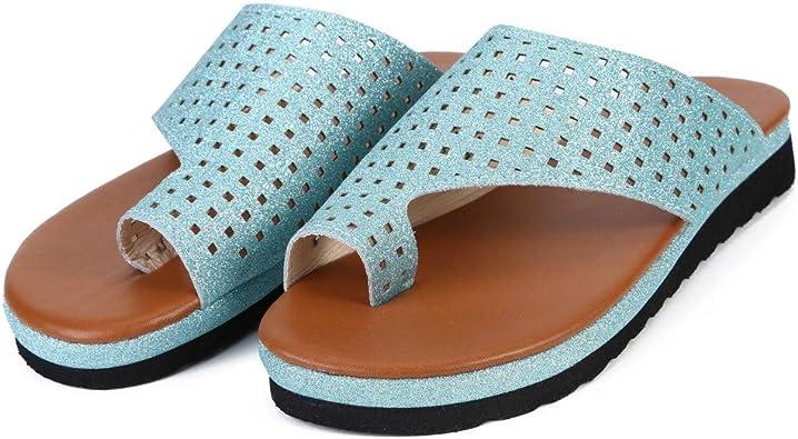 XLGX Attelles d'oignon,Chaussures de Sandale à Plateforme
