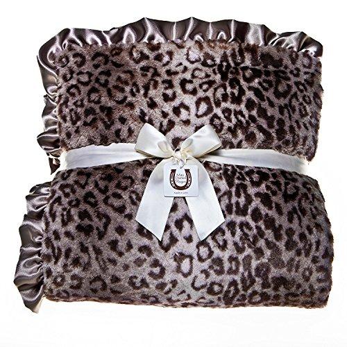 Max Daniel Designs | Grey Jaguar Adult Throw (Ruffle)
