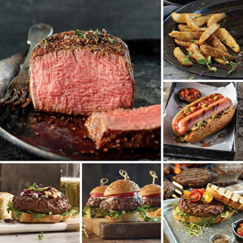 (Omaha Steaks Father's Day Griller Pack (27-Piece with Filet Mignons, Steak Burgers, Ground Beef Sliders, Filet Mignon Burgers, Jumbo Franks, Steakhouse Fries, and Individual Caramel Apple Tartlets))