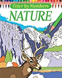 Color By Numbers - Nature (Chartwell Coloring Books)
