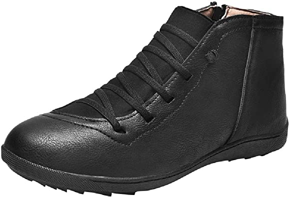 Mens Casual Boots Women Ankle Booties