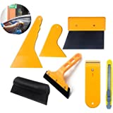 Window Film Tool Kit Glass Protective Film Installation Tool for Car & Home - Vinyl Wrap Film Installing Tool - Scraper Squeegee for Vehicle Film Tinting Installation