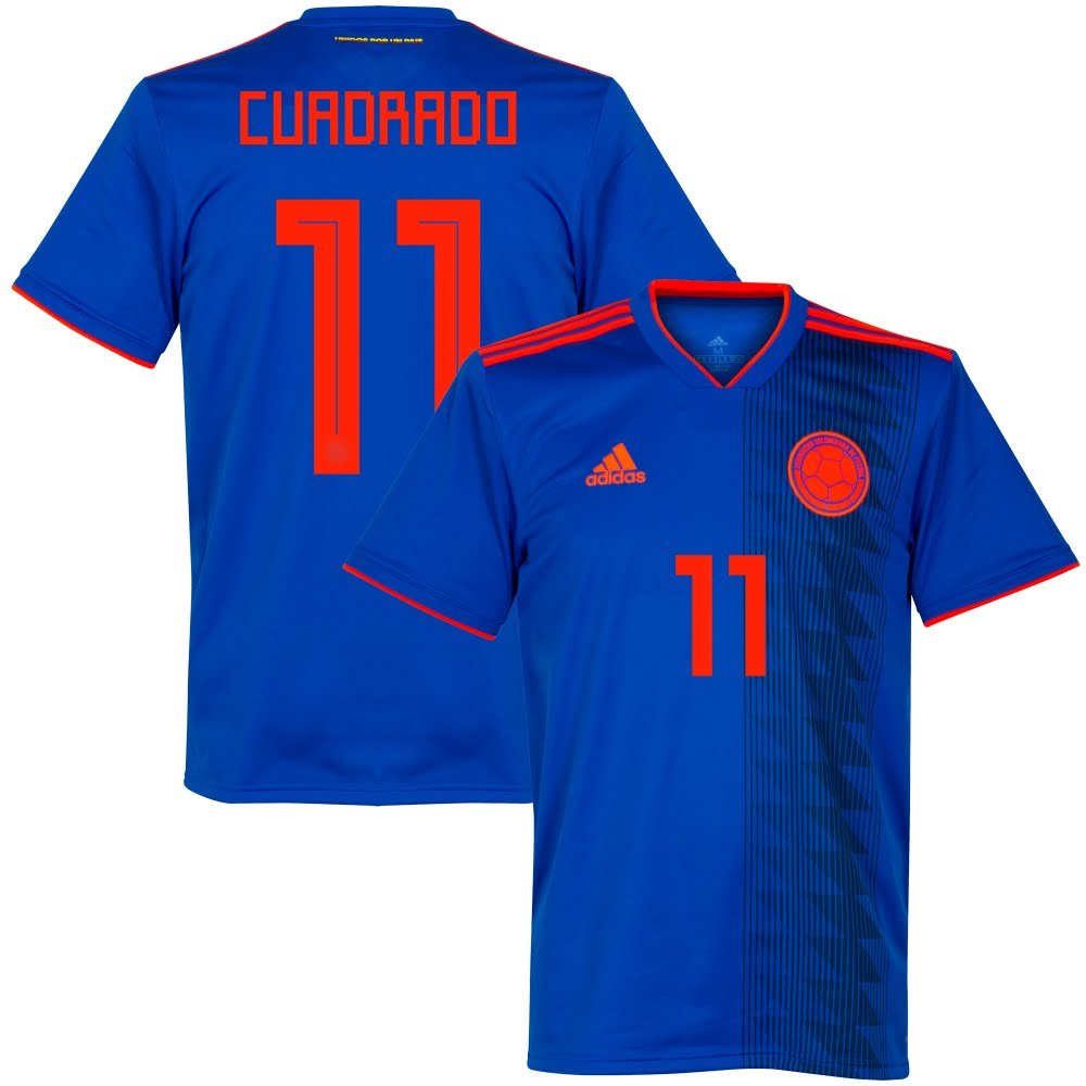 Player Print - adidas Performance Kolumbien Away Trikot 2018 2019 + Cuadrado 11