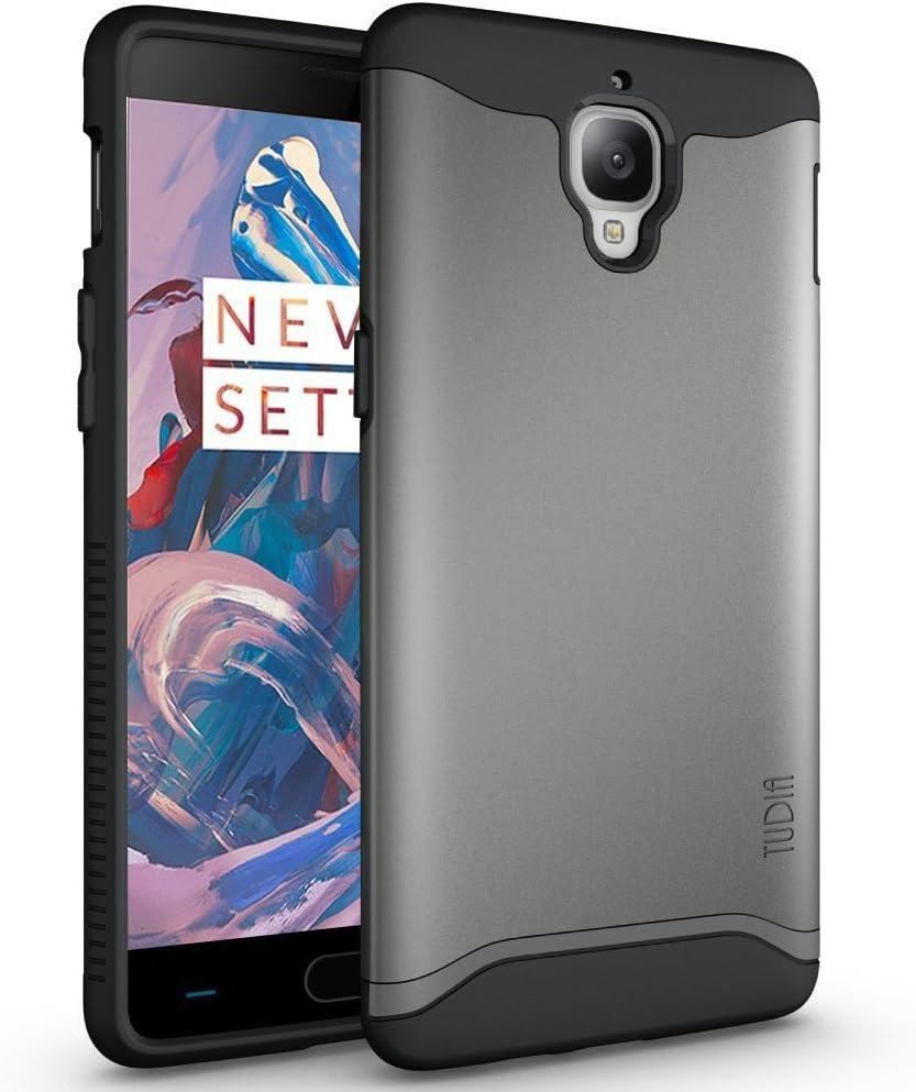 TUDIA OnePlus 3 Funda, Caja Protectora Merge Tarea Pesada Protección Extreme de Doble Capa para OnePlus Three (Grafito): Amazon.es: Hogar