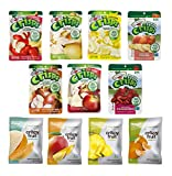 Freeze Dried Fruit Crisps Variety Gift Box - Brothers All Natural and Crispy Green- 11 Pack