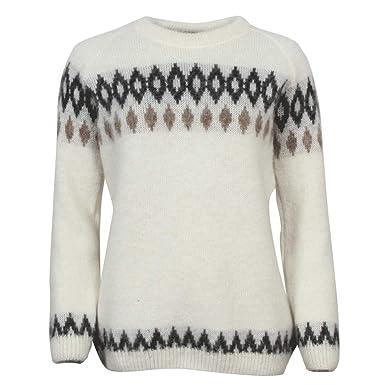 fea5acd92f1a ICEWEAR Hildur warm Icelandic Wool Sweater Lopapeysa for women ...