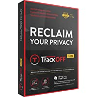 TrackOFF Elite VPN and Online Privacy Protection Software, 1 Year (3-Users)