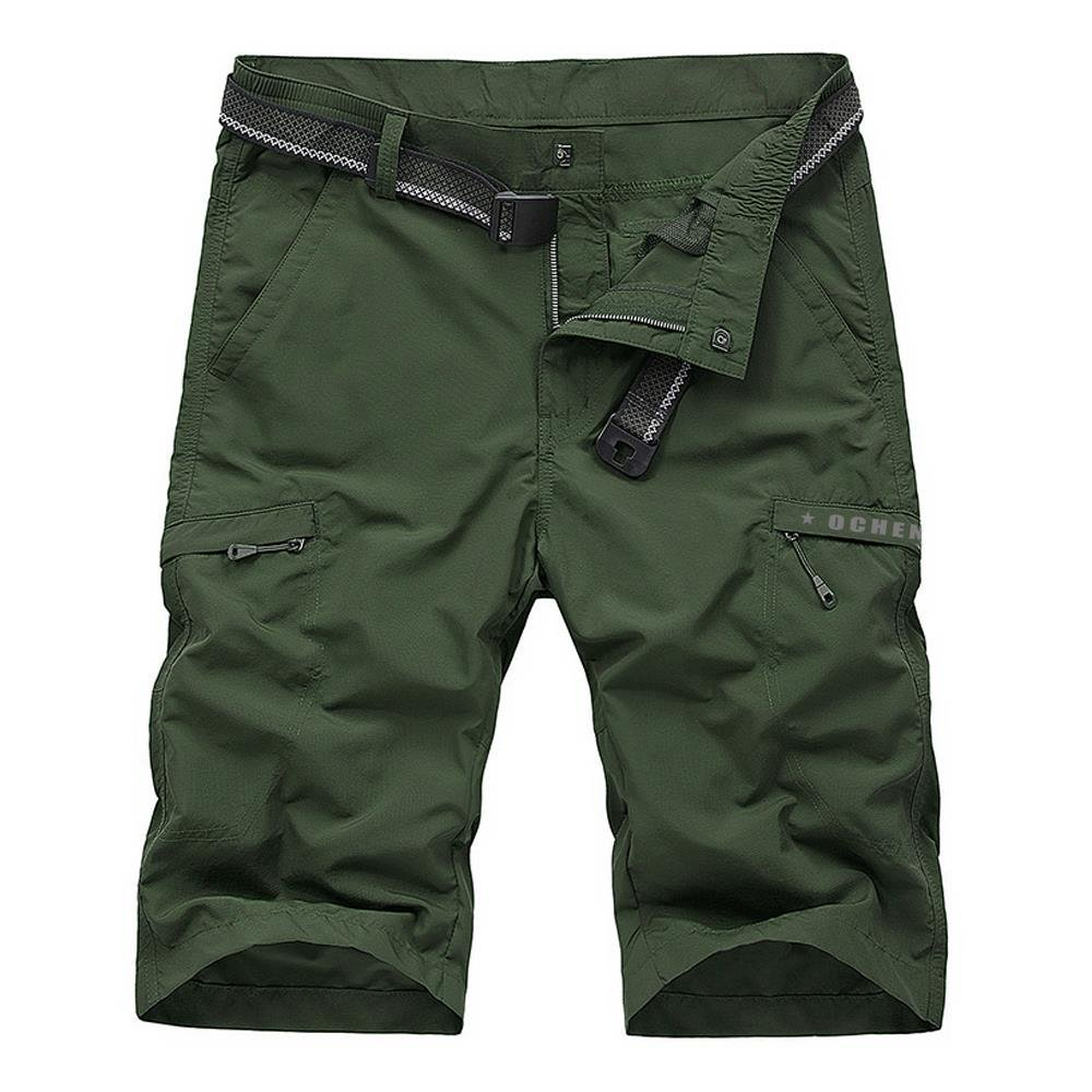 2078army Green 38 Men's Outdoor Sports Quick Dry Shorts
