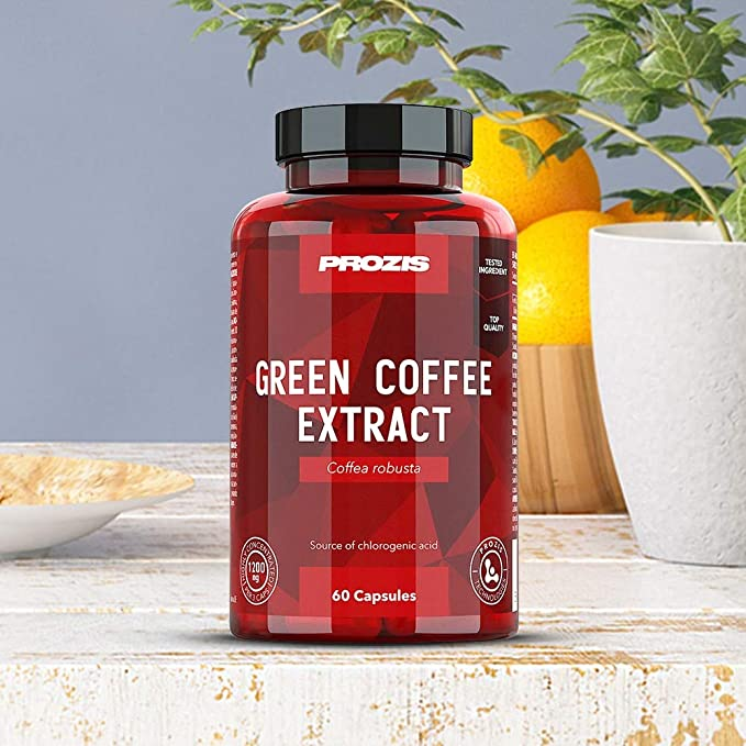 Prozis Green Coffee Extract - 60 Cápsulas