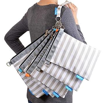Amazon.com: Gadikat - Bolsa organizadora de pañales, 4 ...