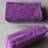 autodry car wash - Ocamo Clean Towel Professional Ultra Soft Microfiber Car Washing Sponge Car Cleaner Tool¨CNo Scratches 1PCS Purple