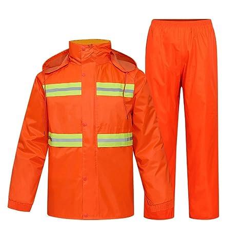 uk store buy new varieties Liveinu High Visibility Reflective Rain Jacket PVC ...