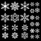 DECORA 48 Pieces Snowflake Glass Cling Window Film - Best Reviews Guide